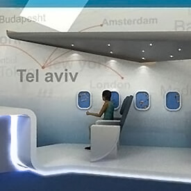 El-Al Airlines Booth