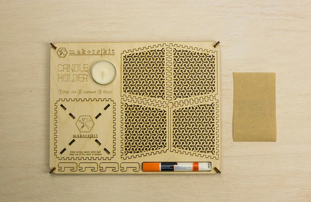 DIY Candle Holder | Product Design | Galia Design