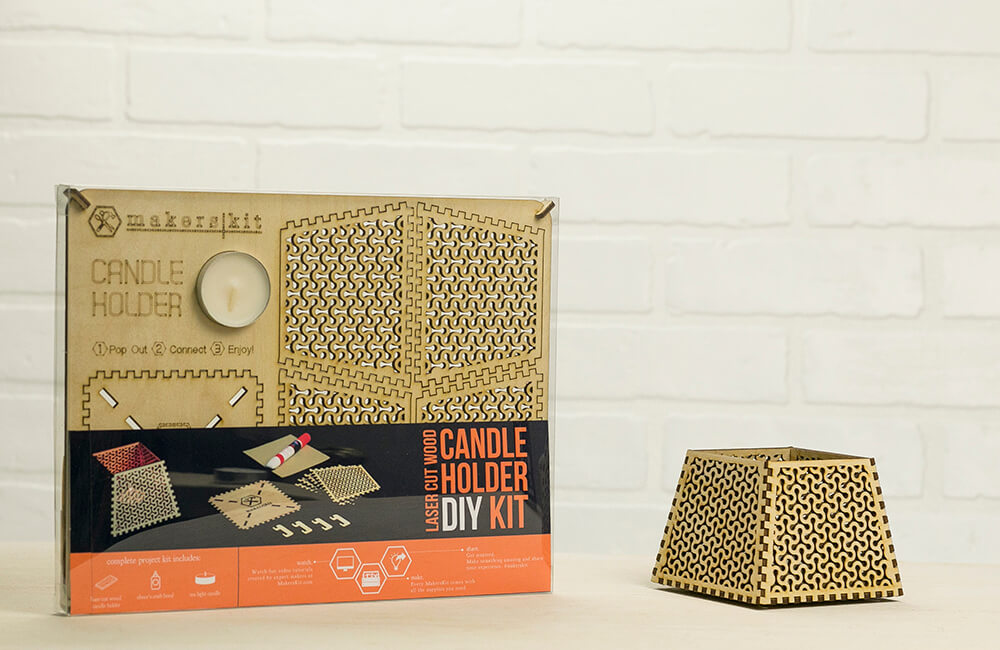 DIY Candle Holder   Product Design   Galia Design - Industrial