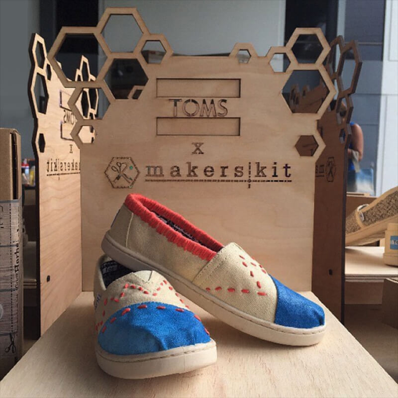Toms Stands Amp Diy Shoes Product Design Galia Design